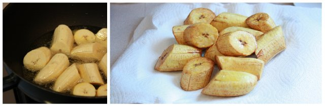 fried plantain 1st cooking