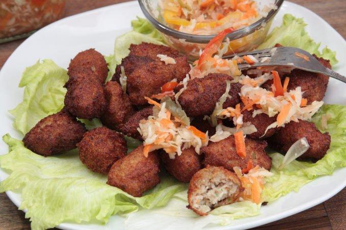 accras malanga - cuisine haitienne